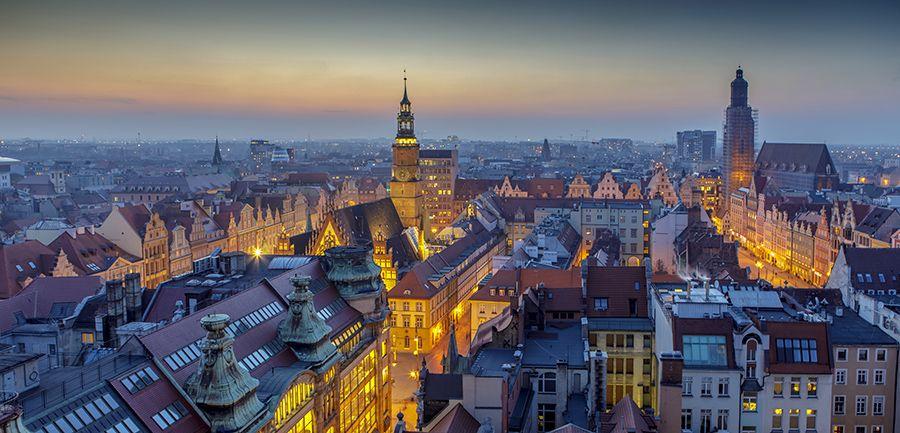 Sky Tower Wrocław – co widać z tarasu widokowego?