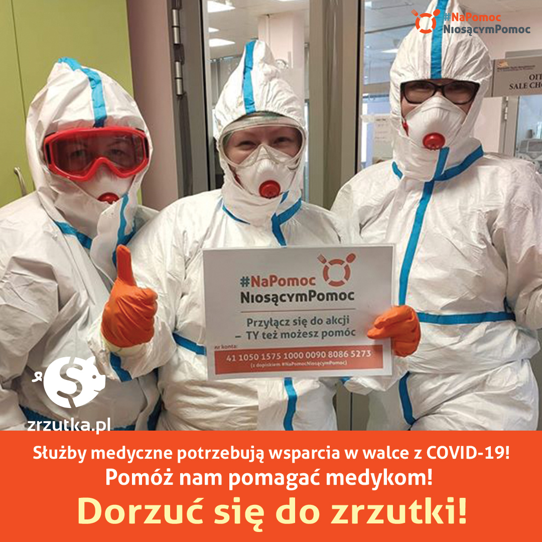 Na Pomoc Niosącym Pomoc – dziękujemy medykom!